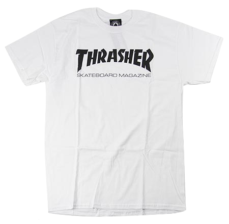 T-SHIRTS / THRASHER / SKATE MAG - WHITE