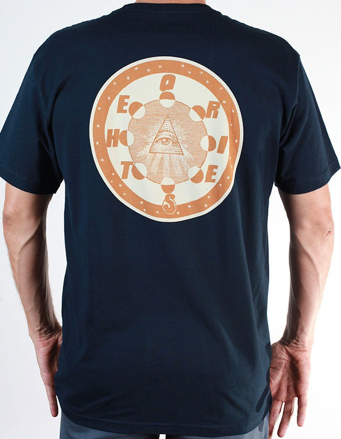 T-SHIRTS / THEORIES / MORNING STAR - NAVY