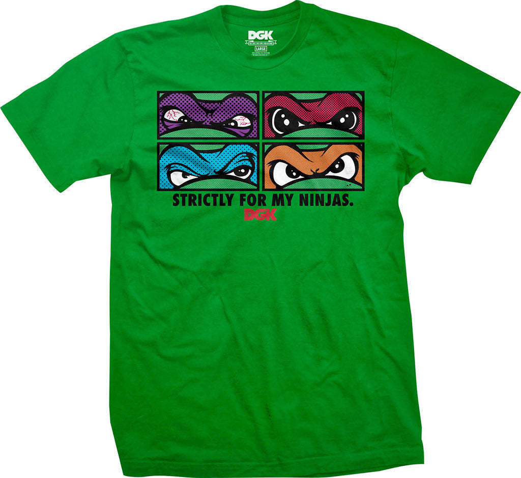 T-SHIRTS / DGK / MY NINJAS - GREEN