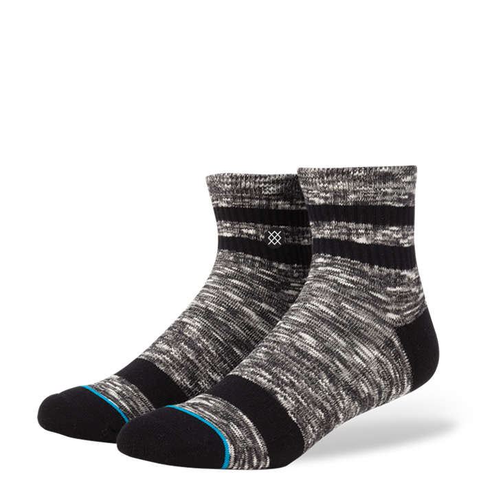 SOCKS / STANCE / MISSION LOW - CHARCOAL