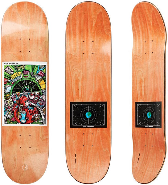 DECKS / POLAR / EARTH ATTACK - NICK BOSERIO - 8.25""