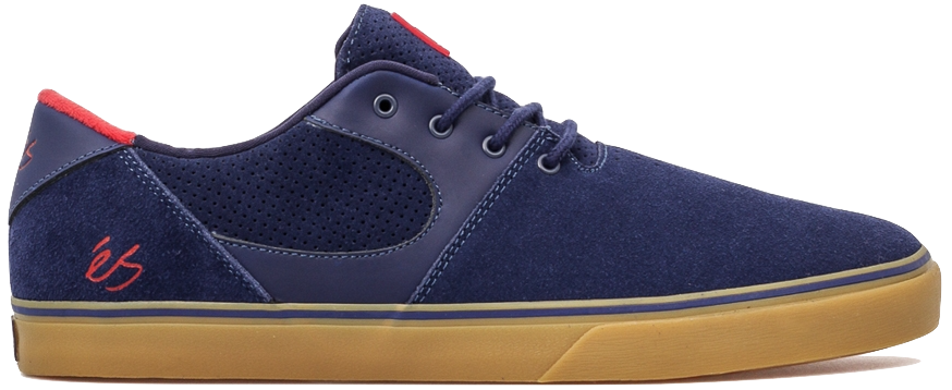 FOOTWEAR / éS / ACCEL SQ - NAVY/RED