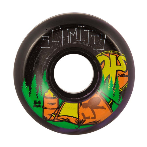 WHEELS / OJ / KEYFRAME - CAMP SCHMITTY - BLACK/PURPLE SWIRL - 87A - 54MM - (set of four)