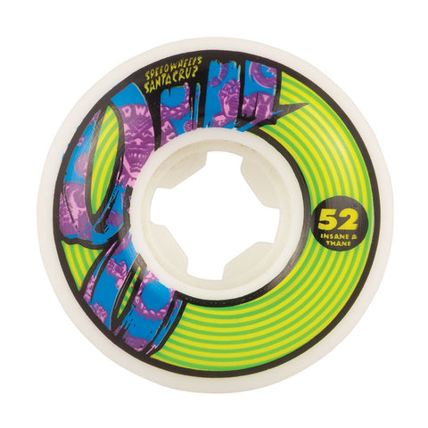 WHEELS / OJ / CHAOS INSANEATHANE - 101A - 52MM - (set of four)