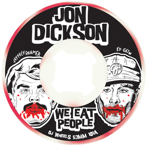 WHEELS / OJ / DICKSON WE EAT PEOPLE / JON DICKSON - 101A - 53MM - (set of four)