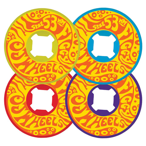 "WHEELS / OJ / FIGGY FREAKOUTS HARDLINE / JUSTIN ""FIGGY"" FIGUEROA - 101A - 53MM - (set of four)"