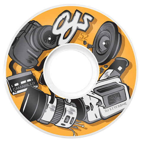 WHEELS / OJ / KEYFRAME - KYLE CAMARILLO  - 87A - 52MM - (set of four)