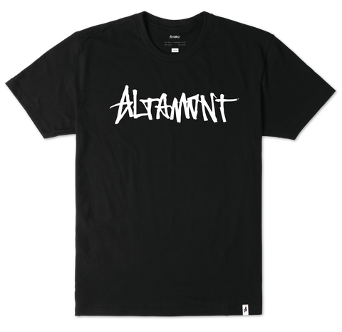 T-SHIRTS / ALTAMONT / ONE LINER - BLACK