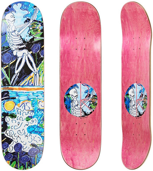 DECKS / POLAR / SKELETON - OSKAR ROZENBERG  - 8.25""