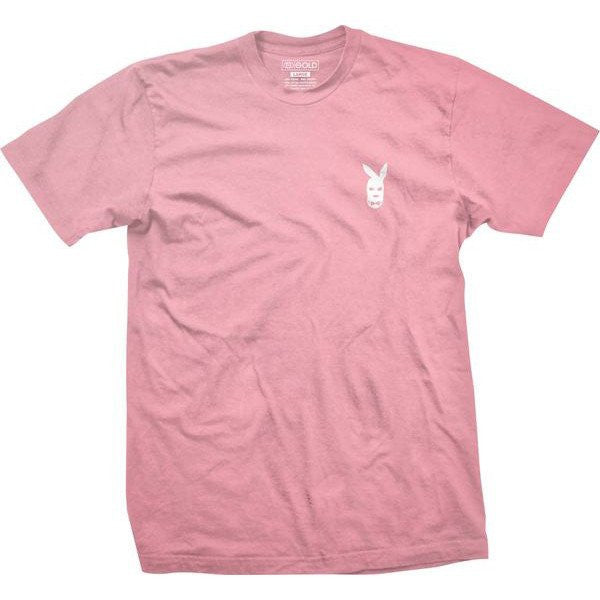 T-SHIRTS / GOLD / PLAYER - PINK