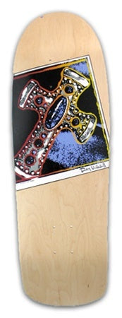 DECKS / POWELL PERALTA / RAY UNDERHILL - CROSS - NATURAL (MINI)