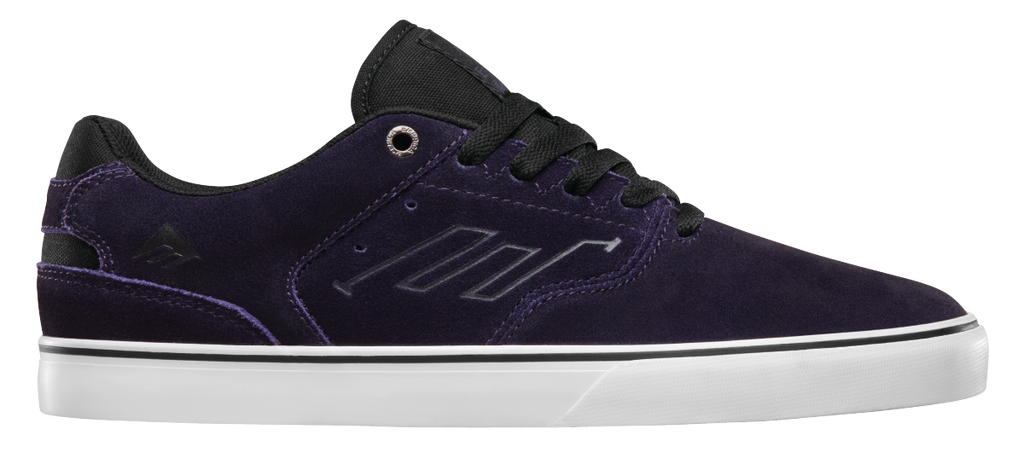 FOOTWEAR / EMERICA / REYNOLDS LOW VULC - PURPLE/WHITE