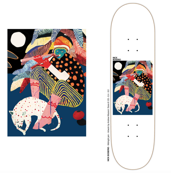 DECKS / POLAR / MIDNIGHT JAM - NICK BOSERIO - 9.0""