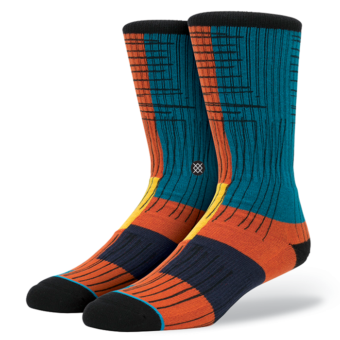SOCKS / STANCE / QUADRO - ORANGE