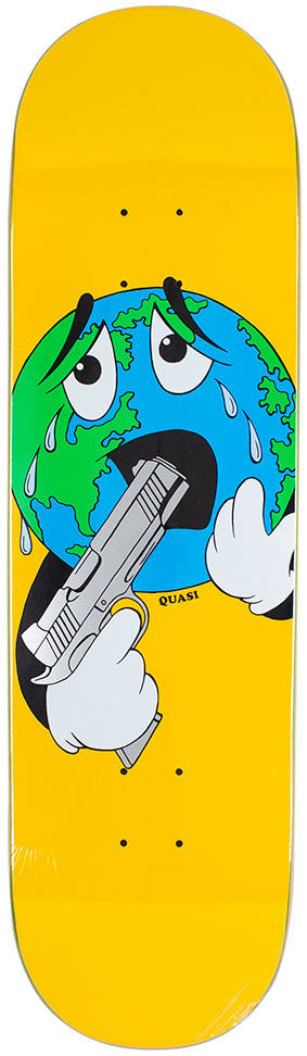 DECKS / QUASI / WORLD - YELLOW - 8.5""