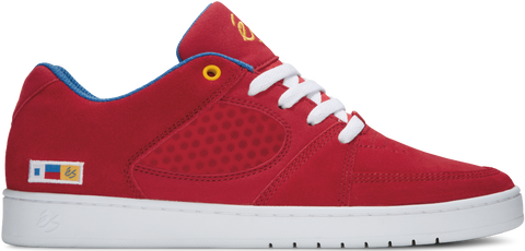 FOOTWEAR / éS / ACCEL SLIM - RED/BLUE/WHITE