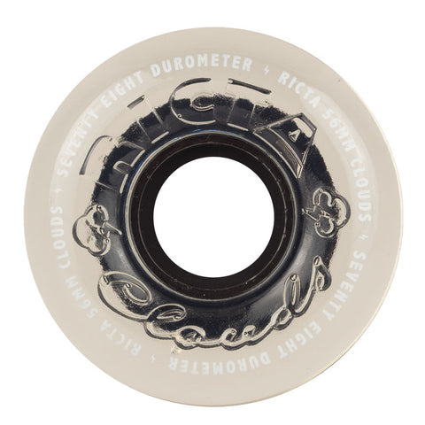 WHEELS / RICTA / CRYSTAL CLOUDS / CLEAR -  78A - 56MM - (set of four)