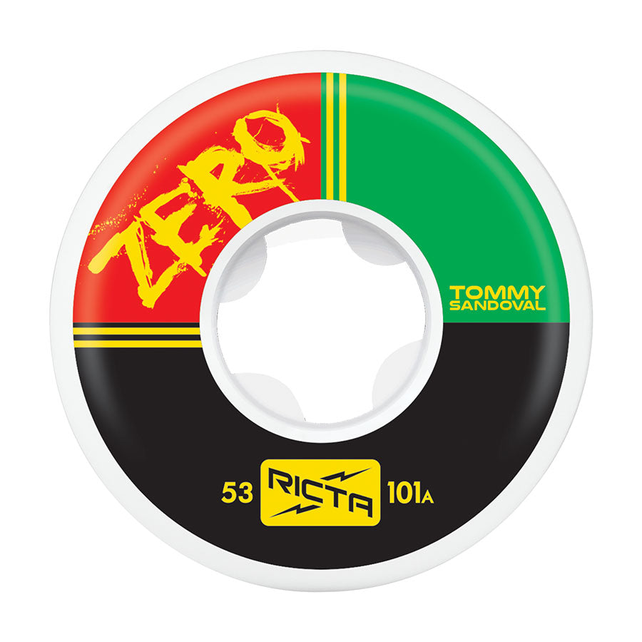 WHEELS / RICTA / NATURALS - 101A - 53MM - TOMMY SANDAL/ZERO PRO - (set of four)