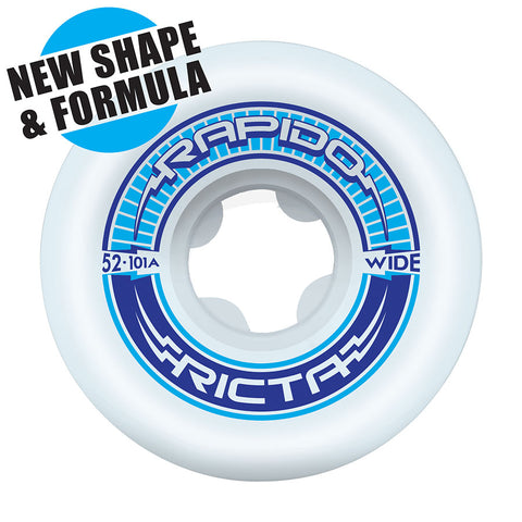 WHEELS / RICTA / RAPIDO - WIDE - 101A - 52MM - (set of four)