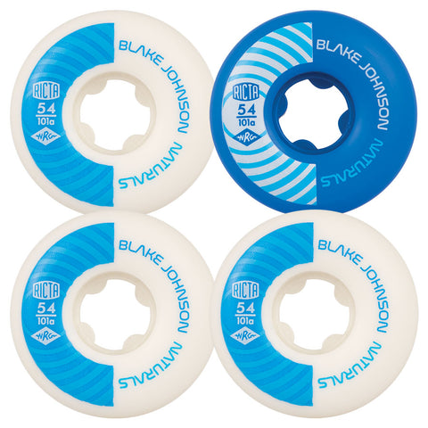 WHEELS / RICTA / NATURALS - 101A - 54MM - JOHNSON PRO - (set of four)