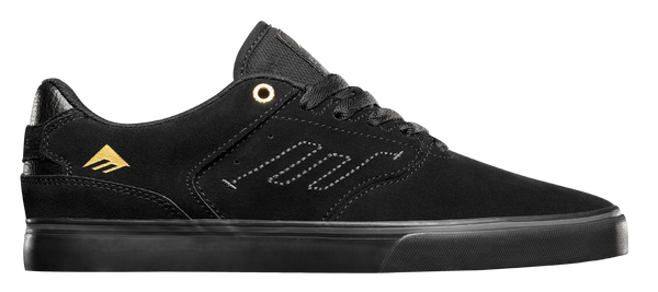FOOTWEAR / EMERICA / REYNOLDS LOW VULC - BLACK/BLACK