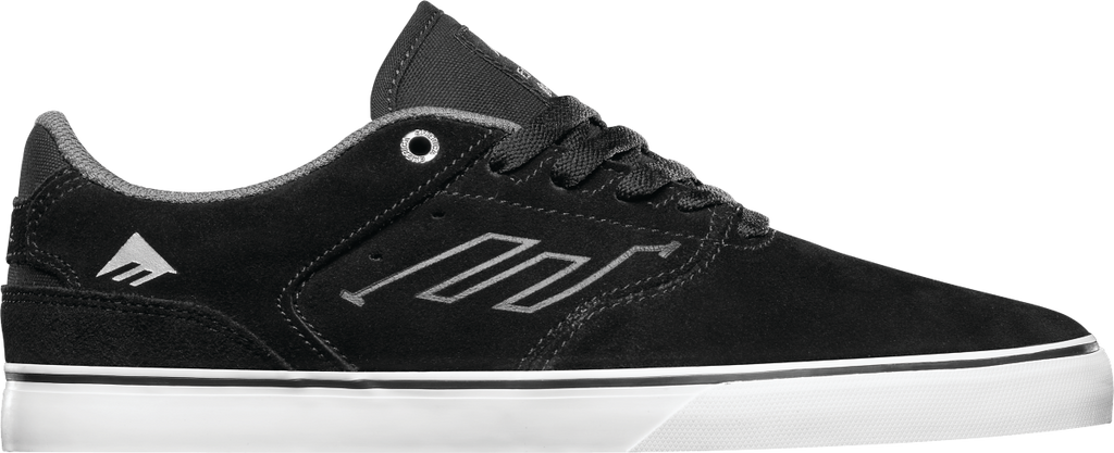 FOOTWEAR / EMERICA / REYNOLDS LOW VULC - BLACK/WHITE/SILVER