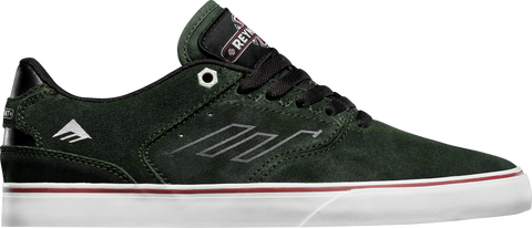 FOOTWEAR / EMERICA / REYNOLDS LOW VULC - DARK GREEN (INDEPENDENT)