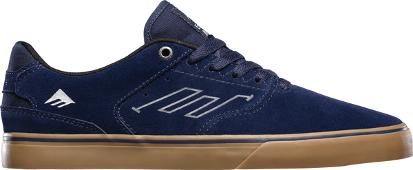 FOOTWEAR / EMERICA / REYNOLDS LOW VULC - NAVY/GREY/GUM