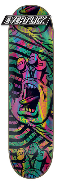 DECKS / SANTA CRUZ / ACID HAND (EVERSLICK) - 8.0""