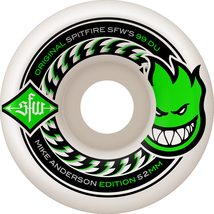 WHEELS / SPITFIRE / MIKE ANDERSON - SFW 2 - 52MM - (set of four)