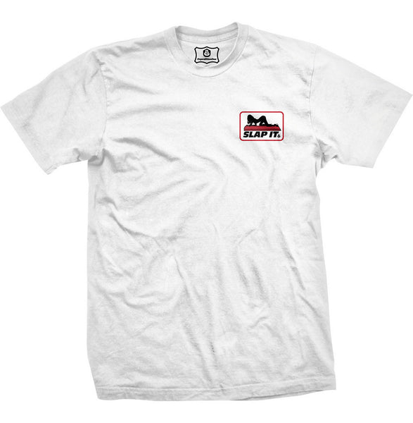 T-SHIRTS / EXPEDITION / SLAP IT - WHITE