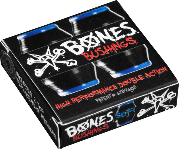 BUSHINGS / BONES / 81A - SOFT - BLACK