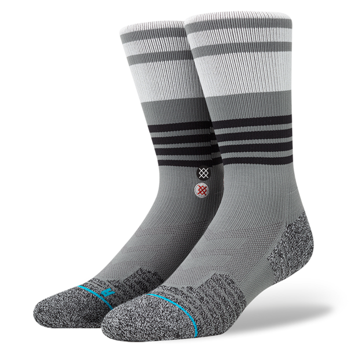 SOCKS / STANCE / SPECTACLE - GREY (FUSION ATHLETIC)
