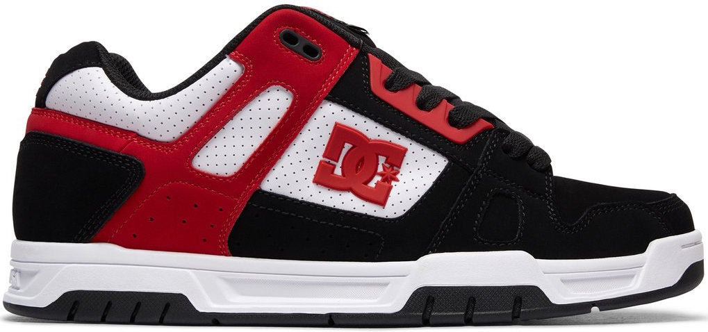 FOOTWEAR / DC / STAG - BLACK/WHITE/RED