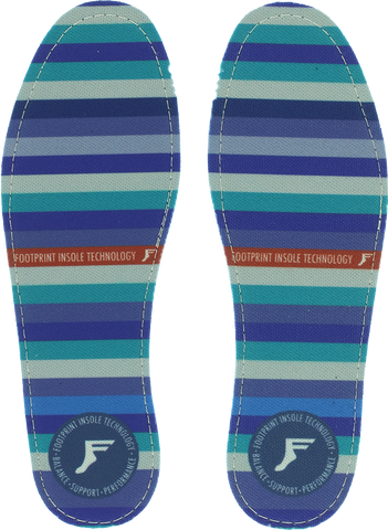 FOOTWEAR / FOOTPRINT / KINGFOAM FLAT - STRIPES