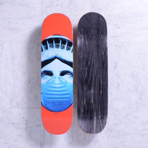 DECKS / QUASI / AIR - RED - 8.125""