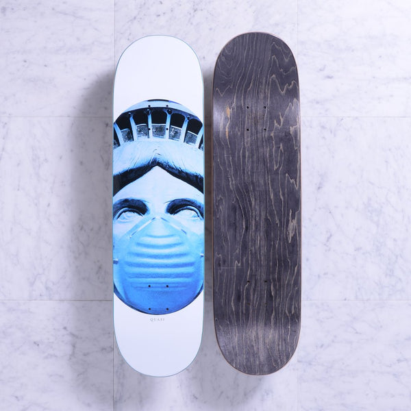 DECKS / QUASI / AIR - WHITE - 8.375""