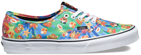 FOOTWEAR / VANS / AUTHENTIC - SUPER MARIO BROS. (NINTENDO)