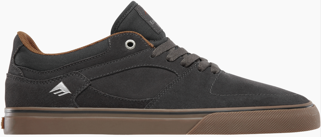 FOOTWEAR / EMERICA / HSU LOW VULC - DARK GREY