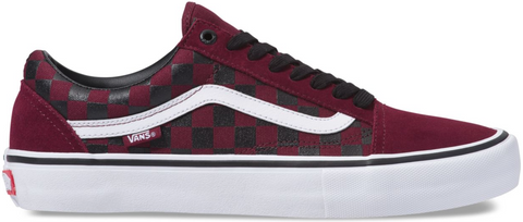 FOOTWEAR / VANS / OLD SKOOL PRO (RUBBER PRINT) - PORT ROYALE/BLACK