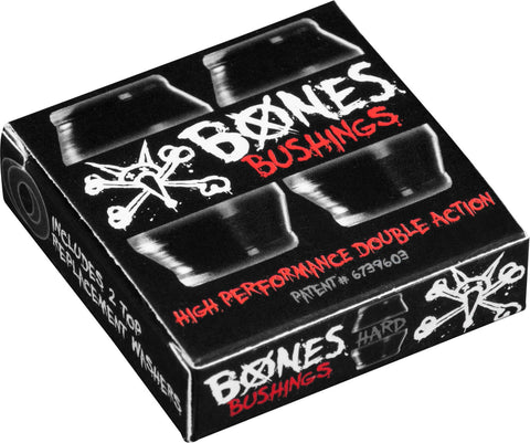 BUSHINGS / BONES / 96A - HARD - BLACK