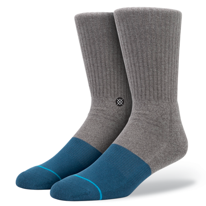 SOCKS / STANCE / TRANSITION - GREY / BLUE