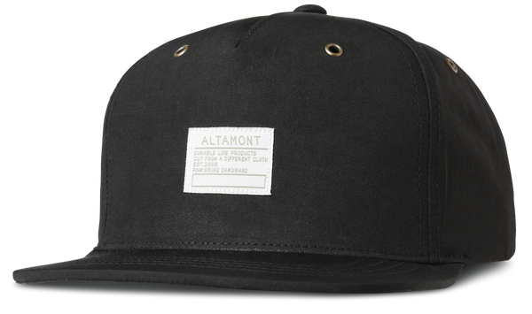 HATS / ALTAMONT / VAN DO CAP - BLACK