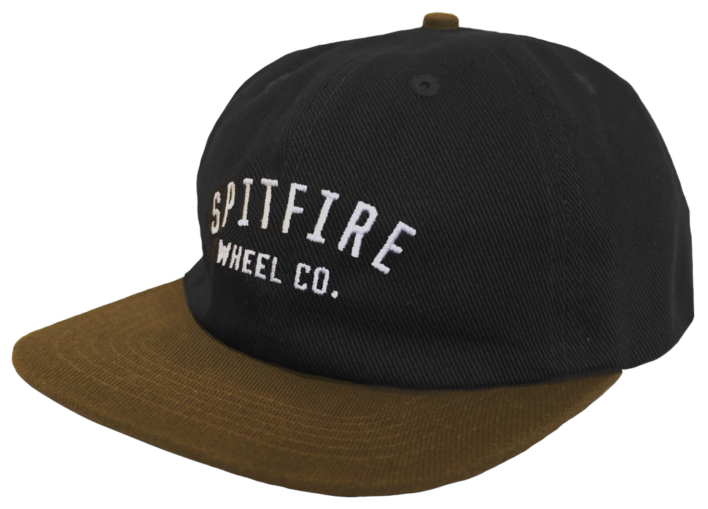 HATS / SPITFIRE / WHEEL CO. - BLACK/BROWN