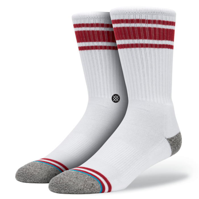 SOCKS / STANCE / WHITE OUT - RED