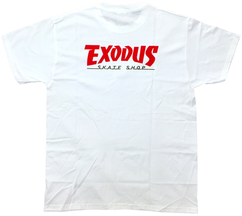 T-SHIRTS / EXODUS / THRASHIN' - WHITE/ RED/BLACK