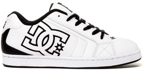 FOOTWEAR / DC / NET - WHITE/BLACK