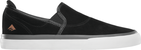 FOOTWEAR / EMERICA / WINO G6 SLIP-ON - BLACK/GRAY/WHITE