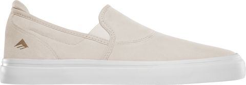 FOOTWEAR / EMERICA / WINO G6 SLIP-ON - WHITE/WHITE
