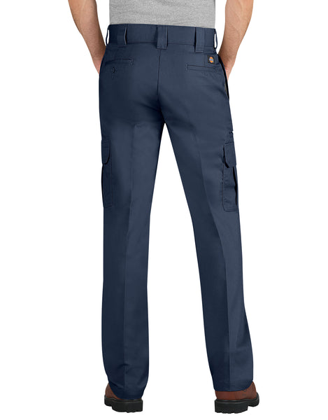 PANTS / DICKIES / FLEX SLIM FIT / STRAIGHT LEG CARGO PANT - DARK NAVY